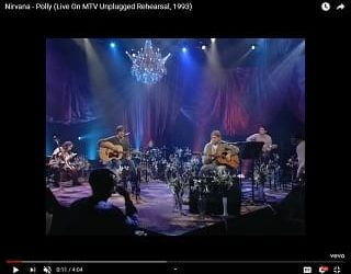 """New Footage Of Nirvana's """"MTV Unplugged"""" Rehearsal Of """"Polly"""""""