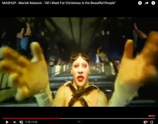 """Mashup: """"All I Want For Christmas is the Beautiful People"""""""