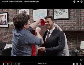 Viral Video: Jimmy Kimmel Got Waxed