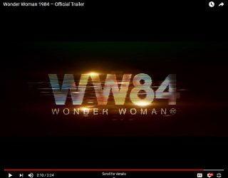 "Gal Gadot & Chris Pine Reunite In First ""Wonder Woman 1984"" Trailer"