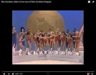 "Viral Video: 80s Aerobics Video to the Tune of Rob Zombie's ""Dragula"""
