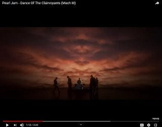 """Pearl Jam Drops Another Video For """"Dance Of The Clairvoyants"""""""
