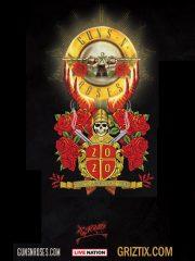 Guns N' Roses 2020 World Tour