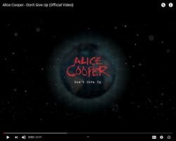 Alice Cooper Shares Hopeful Message With New Song
