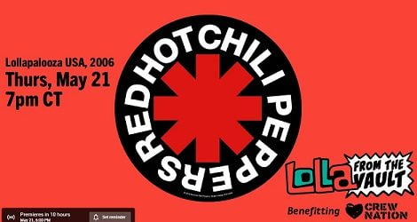 Red Hot Chili Peppers – Lollapalooza USA 2006
