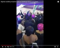 Trending: Wedding In Nigeria Rocks OUT!