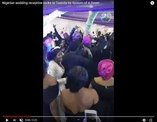 Trending: Wedding In Nigeria Rocks OUT!