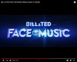 "Fans Get A First Look At ""Bill & Ted Face The Music"""