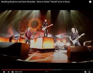 Breaking Benjamin & Bush Cover Alice In Chains