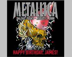 #MetallicaMondays Celebrates James' Birthday