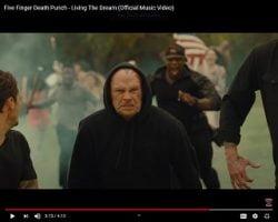 Five Finger Death Punch Guitarist Insists Video Isn't Anti-Mask