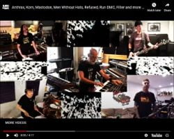 """Rockers Release All-Star Cover Of Faith No More's """"We Care A Lot"""""""
