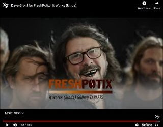 Dave Grohl Posts Spoof Video About Caffeine Addiction