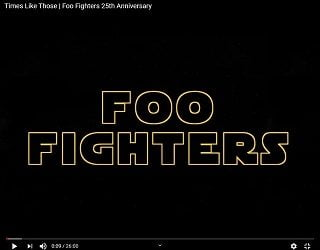 Foo Fighters Relive History In New Short Film