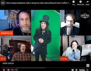Alice Cooper Surprises Zak Nilsson With Original Song