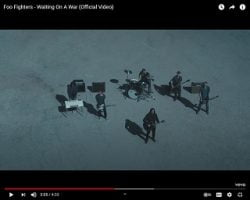 """Foo Fighters Drop Video For """"Waiting On A War"""""""