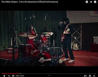 "White Stripes ""From The Basement"" Set Streaming For First Time"
