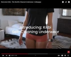 Company Has Created A Pair Of Underwear That Never Has To Be Washed