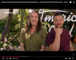 "Incubus Singer Brandon Boyd Duets With ""American Idol"" Contestants"
