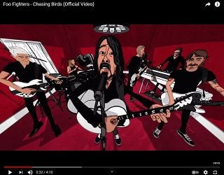 "Foo Fighters Share Video For ""Chasing Birds"""