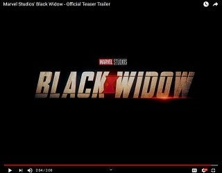 "New ""Black Widow"" Trailer Drops"