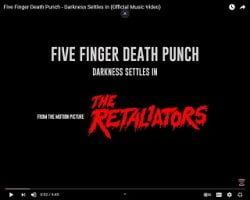 Five Finger Death Punch Shares New Music Video Featuring Footage From Upcoming Horror Film