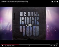 """The Struts Cover Queen's """"We Will Rock You"""""""