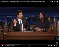 """ICYMI: Dave Grohl Co-Hosts """"The Tonight Show"""""""