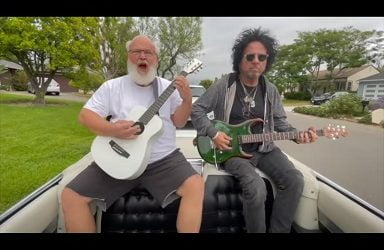 Tenacious D's Kyle Gass Reworks Ramones Classic With Special Guests