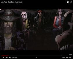 Zombie-Sixx-John 5 Supergroup L.A. Rats Release 'I've Been Everywhere'