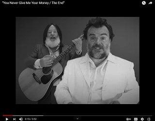 Tenacious D Performs Beatles Medley For Charity