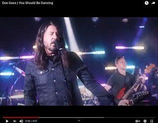Foo Fighters Drop Bee Gees Cover, Dee Gees Merch
