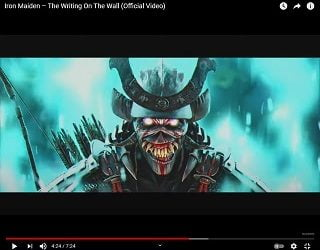 Iron Maiden Drops First New Song Since 2015