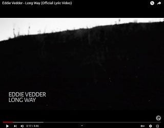 Eddie Vedder Releases New Solo Single From Upcoming Solo Album